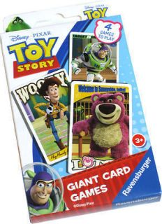 Toy Story Giant Card Games Snap Memory Games etc BNWT