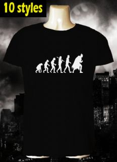 Batman Evolution T Shirt DC Comic Book Gotham City Dark Knight Rises