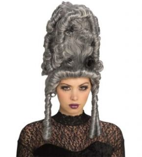 Thy Wicked Court Female Adult Costume Silver Gray Wig