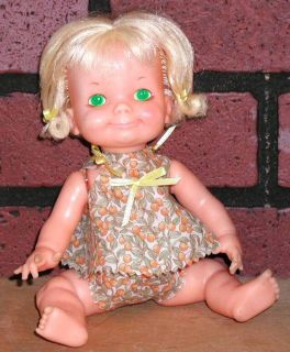 Vintage Ideal Dolls Belly Button Baby Me So Glad Doll