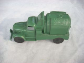 Vintage Marx Construction Camp Playset Green Lumar Concrete Truck
