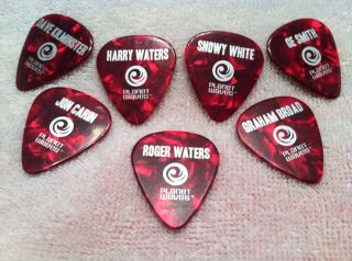 RARE Roger Waters The Wall official guitar pics