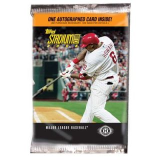Topps 2008 MLB Trading Cards   Stadium Club Baseball (1 Packs
