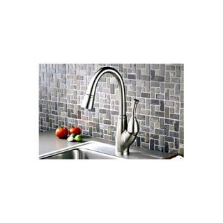 Kohler Fairfax Single Handle Single Hole Kitchen Sink Faucet with Pull