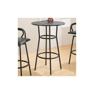 Wildon Home ® Pitkin 28 Bar Table in Black
