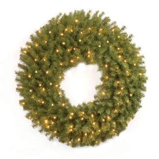 National Tree Co. Norwood Fir 30 Pre Lit Wreath   NF 30WLO 1