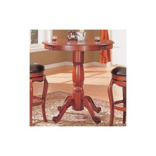 Wildon Home ® Lincoln Bar Table in Cherry Veneer