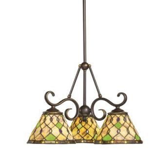 World Imports Lighting Bijoux 5 Light Mini Chandelier   81025 62