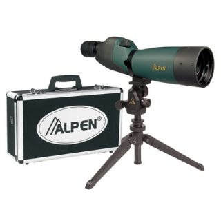 Alpen Outdoor 20 60x80 Waterproof Spotting Scope Kit
