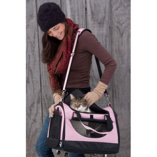 Pet Gear World Traveler Tote Bag Pet Carrier in Crystal Pink