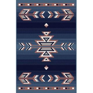 Home Dynamix Premium Country Blue Rug   7053 countryblue