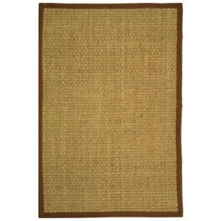 Safavieh Natural Fiber Natural/Brown Rug   NF114B RE