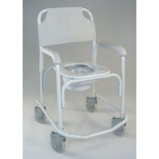 Shower Chair with High Back and Optional Accessories   118 3 H KIT