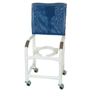 MJM International Standard Deluxe Shower Chair with High Back and