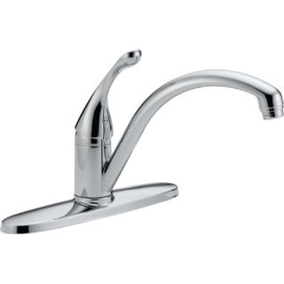 Delta Collins Single Handle Centerset Duramount Kitchen Faucet   140