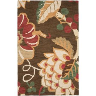 Safavieh Jardin Brown/Multi Floral Rug