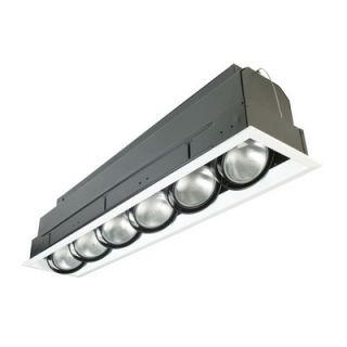 Eurofase Six Light Multiple Strip Recessed Trim in