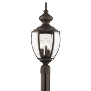 Thomas Lighting Park Avenue Outdoor Post Lantern in Painted Bronze