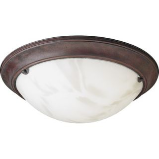 Progress Lighting Eclipse 2 Light Flush Mount   P3480 33