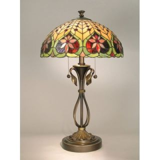 Dale Tiffany Tiffany Table Lamp in Antique Brass