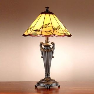 Dale Tiffany Lifestyles Falhouse Table Lamp in Antique Bronze with