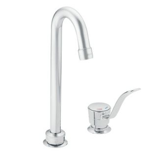 Moen Commercial Widespread Faucet with Single Lever Handle