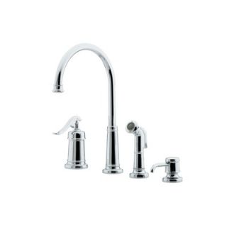Price Pfister Ashfield One Handle Widespread Bar Kitchen Faucet with