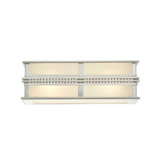 Sonneman Shanghai Vanity Light in Polished Nickel   4885.35 / 4886