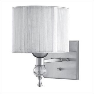 World Imports Lighting Uptown Contemporary Wall Sconce in Brushed