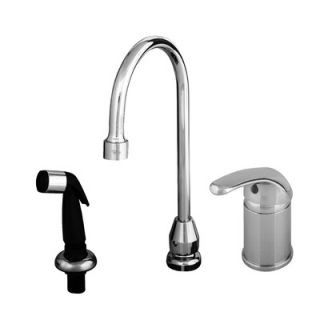 Brass Widespread Bathroom Faucet with Single Lever Handle   B