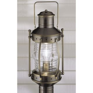 Norwell Lighting Seafarer One Light Outdoor Post Mount Lantern