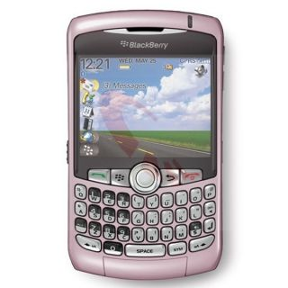 New Blackberry Curve 8320 QWERTY GPS Pink Unlocked Cell Phone