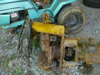 HEAVY EQUIPMENT CABLE PIPE FARM TRACTOR EXCAVATION TRENCHER ATTACHMENT
