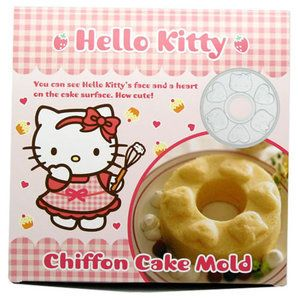 Hello Kitty Sanrio Chiffon Cake Mold Jello Party Supply