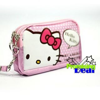 Hello Kitty Cell Phone Hand Bag Case Pouch Pink