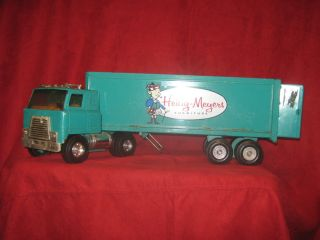 ERTL Heilig Meyers pressed steel semi truck