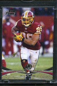 is for Topps Vault First Edition Card. Roy Helu 1/1 Serial #009882