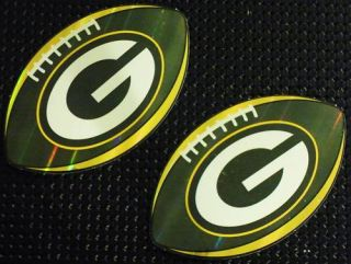 Green Bay Packers Football Stickers NFL