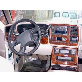 CHEVROLET CHEVY AVALANCHE INTERIOR WOOD DASH TRIM KIT SET 2003 2004