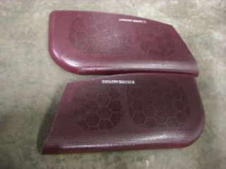 Buick Riviera Front Door Speakers Tweeters Grill Grills