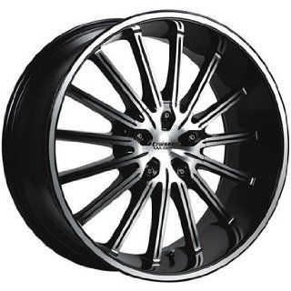 Cruiser Alloy Attack 16x7.5 Machined Black Wheel / Rim 4x100 & 4x4.25