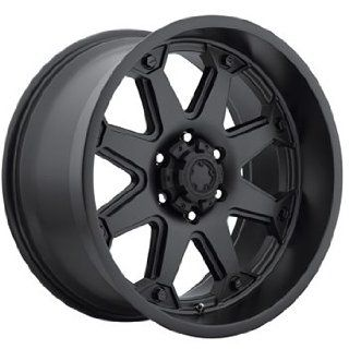 Ultra Bolt 17x8 Black Wheel / Rim 6x135 with a 25mm Offset and a 87.00