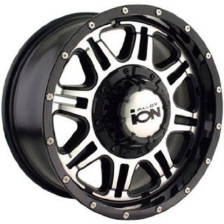 Alloy Ion Style 186 15x8 Black Wheel / Rim 5x5 & 5x4.5 with a  5mm