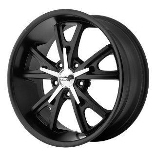 American Racing Vintage Daytona 17x8 Black Wheel / Rim 5x4.5 with a