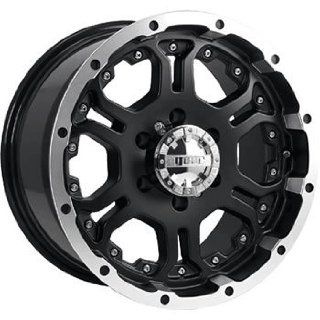 Gear Alloy Recoil 17x9 Black Wheel / Rim 6x135 with a 25mm Offset and