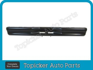 1992 2007 Ford Econoline Van Step Type Rear Bumper Face Bar Black w O