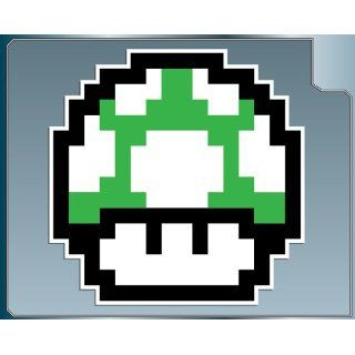 1 UP MUSHROOM from Super Mario Bros. vinyl decal 4