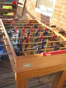 Harvard Multi Game Table Foosball Pool Air Hockey Tennis Bowling