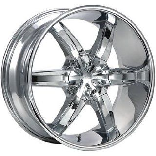 Cruiser Alloy Flash 17x7.5 Chrome Wheel / Rim 5x4.25 & 5x4.5 with a