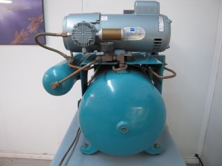 ADP Dual Head Oilless Dental Compressor with Air Dryer